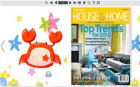 Flip Book Maker Themes for Lovely Zodiac