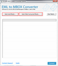 Batch Convert EML to MBOX