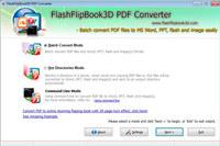 FlashFlipBook3D PDF Converter Freeware