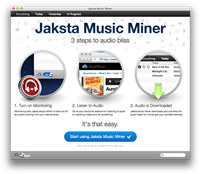 Jaksta Music Miner for Mac