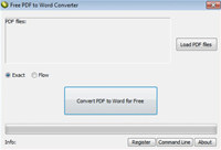 LotApps Free PDF to Word Converter