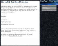 Starcraft 2 Top Zerg Strategies screenshot medium