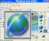 Windows Icon Editor screenshot medium