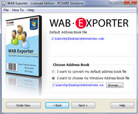 Import WAB to Outlook 2007