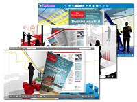 Business Theme for Flip Book Design screenshot medium