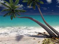 Sandy Beach 3D Screensaver screenshot medium