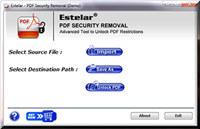 PDF Unlocker Software  screenshot medium
