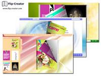 Dazzle Color Template for Flip Book