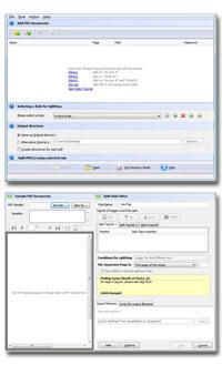 Easy PDF Content Split