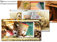 Lovely Dog Theme for Page Turning Book screenshot medium