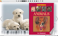 Page Flip Book Template - Cute Dog Style screenshot medium