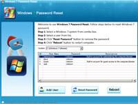 Windows 7 Password Reset Software