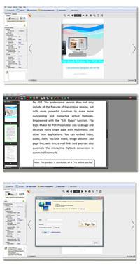 PDF to Flash Brochure Pro screenshot medium
