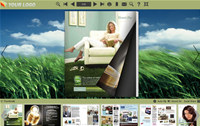 Flip Books Themes in Cornfield Style