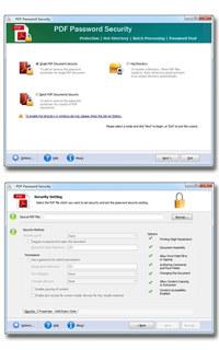 Simple PDF Password Security