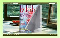 FlipBook Creator Themes Float: Watermelon