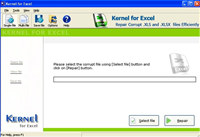 MS Excel File Recovery Tool