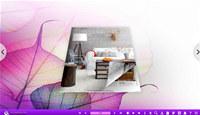3D Page Flip Book Beauteousness Theme