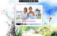 Flash Catalog Templates of Garden Style screenshot medium