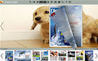 Flash Magazine Themes in Cute Dog Style