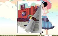FlipBook Creator Themes Pack Classical: Adolesce