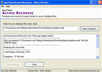 Quick Access Data Recovery Tool screenshot medium