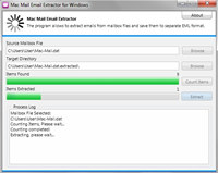 Free Mac Mail Email Extractor