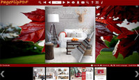 Red Style of Flipping Book Templates