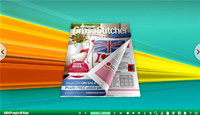 Bracing 3D Page Flip Book Templates