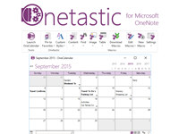 Onetastic for Microsoft OneNote 64bit screenshot medium