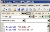 Xitona Visual Studio Tabs