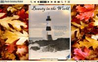 Flash Catalog Templates Autumn Leaves