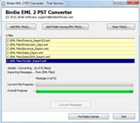 .EML to .PST screenshot medium
