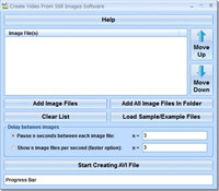 Create Video From Still Images Software