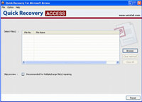 Access Database Repair Tool screenshot medium