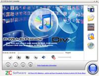 ZC DVD to DivX Converter