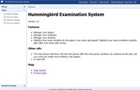 Hummingbird Examination System