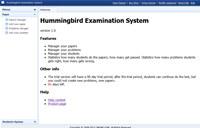 Hummingbird Examination System