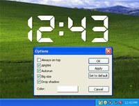Transparent Clock-7 screenshot medium