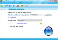 Bigasoft Facebook Downloader