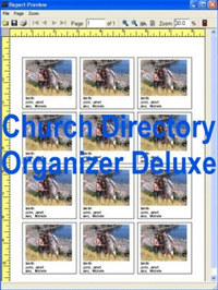 Church Directory Organizer Deluxe