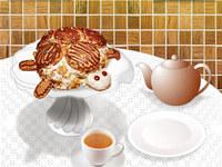 Turtle Cake Cooking MAC