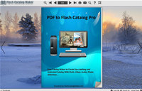 Flash Catalog Templates of Snow Style