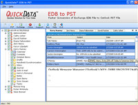 QuickData EDB to PST