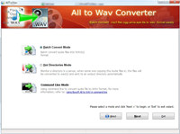 Boxoft All to Wav Converter screenshot medium