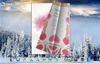 Page Flip Book Templates - Winter Scenes