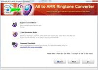 Boxoft All to Amr Converter screenshot medium
