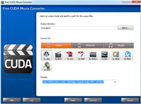 Free CUDA Movie Converter screenshot medium