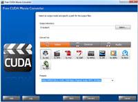 Free CUDA Movie Converter screenshot medium