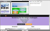 BootStrap Template Editor